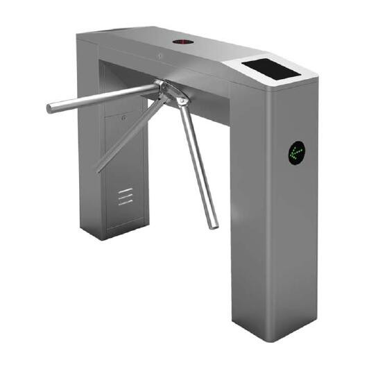 Entrance Control Semi Automatic Tripod Turnstile Gate Easy Maintenance