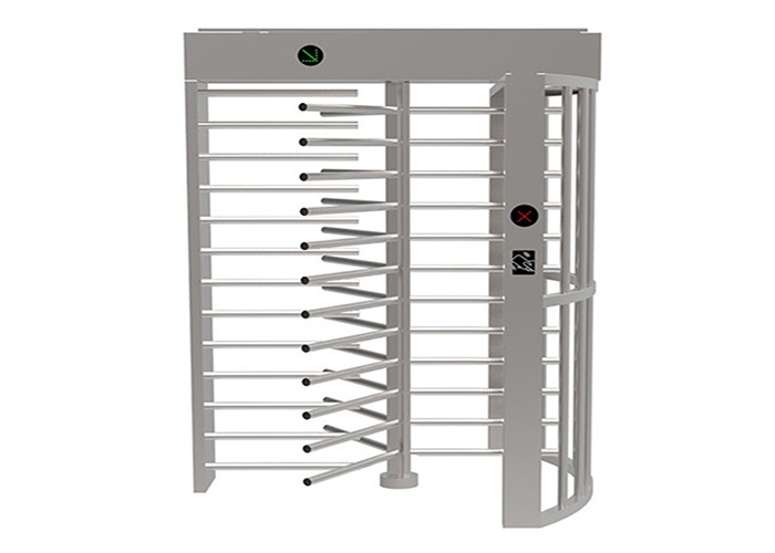 Fingerprint reader Full Height Turnstile double entrance Turnstyle Gates OEM outdoor