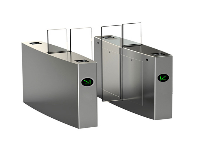 Passenger flow control brushless DC motor sliding metro turnstile with infrared photocell